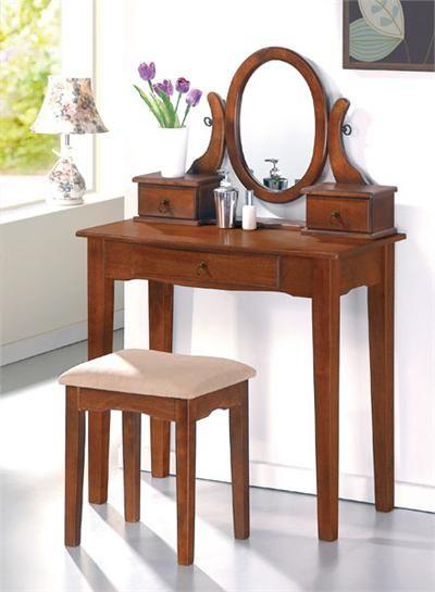 Oak Makeup Vanity With Images Bedroom Vanity Set Vanity Table