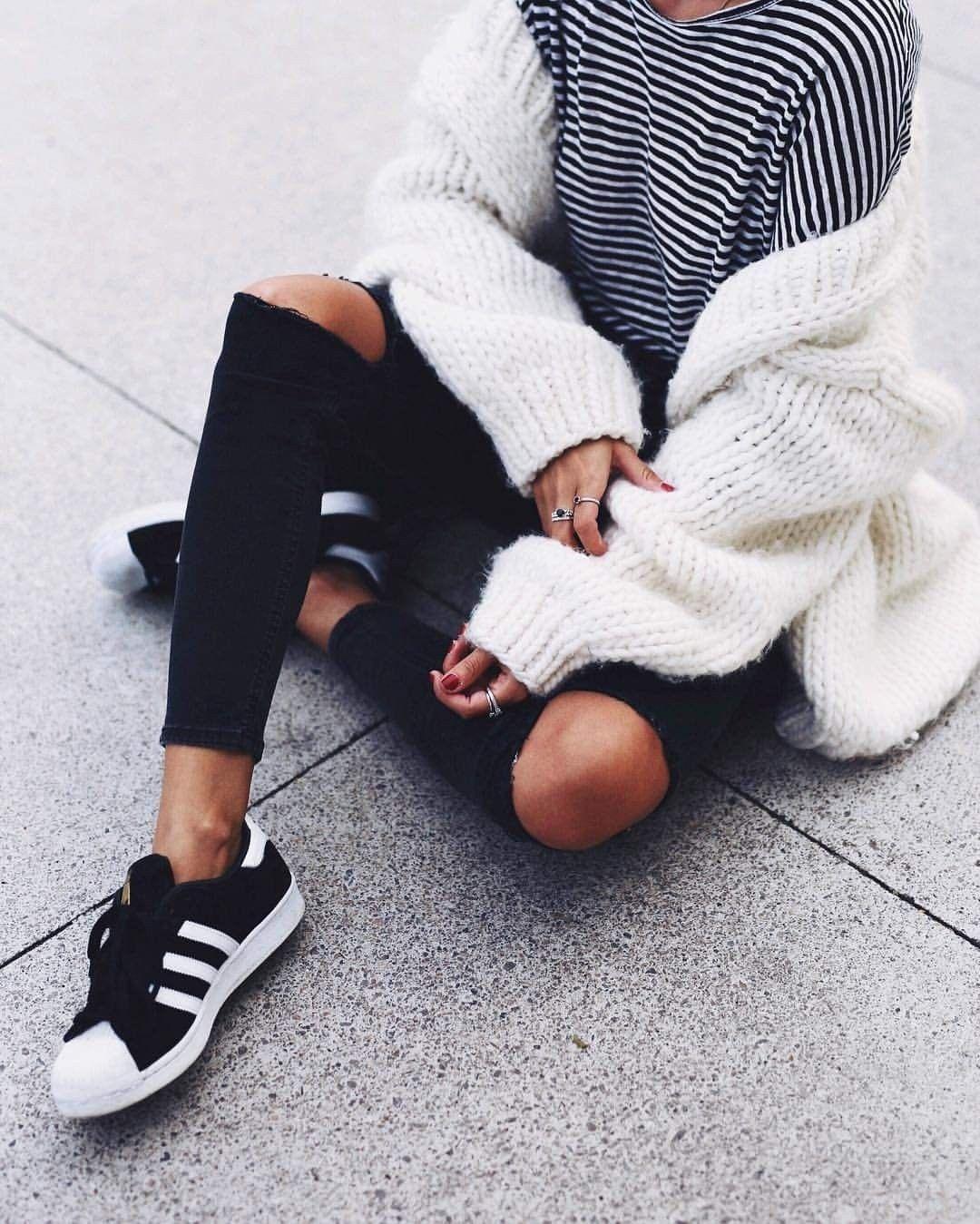 Andicsinger | Outfits adidas, Superstar negras, Adidas ...