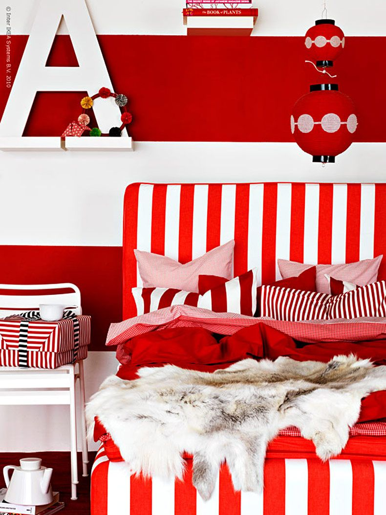 red & white - IKEA