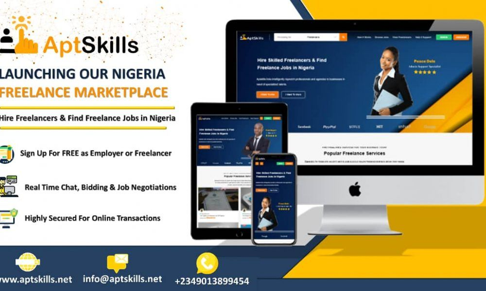 Aptskills Review Best Place To Find Freelance Jobs In Nigeria Freelancing Jobs Job Freelance Marketplace