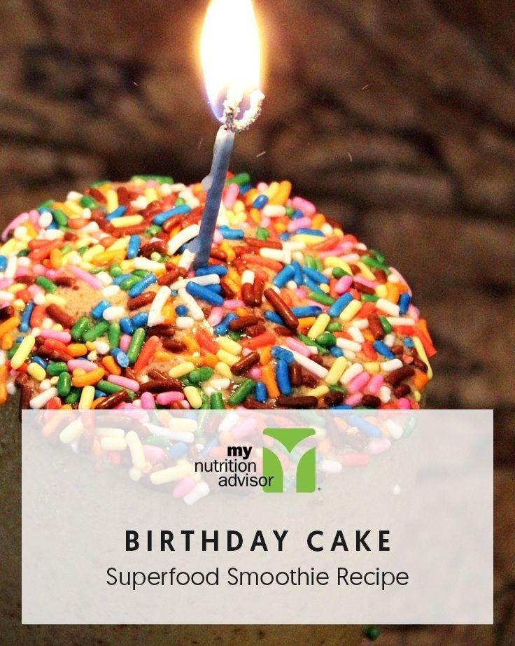 Birthday cake superfood smoothie recipe recipe