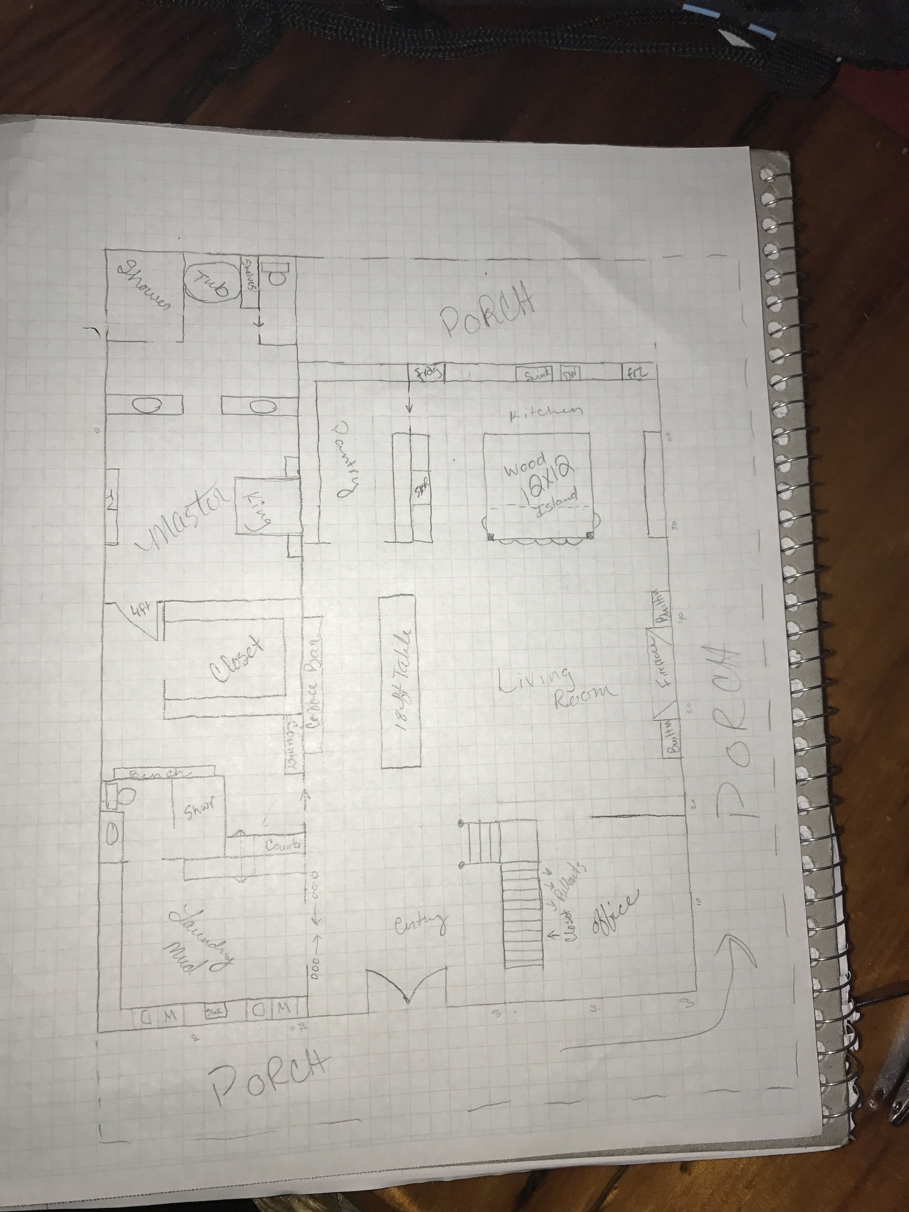 Barn Floor Plan Amanda Jones Barndominium Plans Off Grid Tiny House