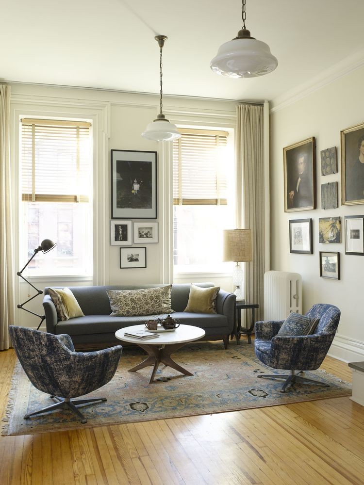 Admiring the beauty of this eclectic Brooklyn brownstone by