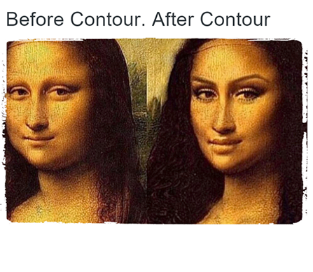 Monalisa with Contouring