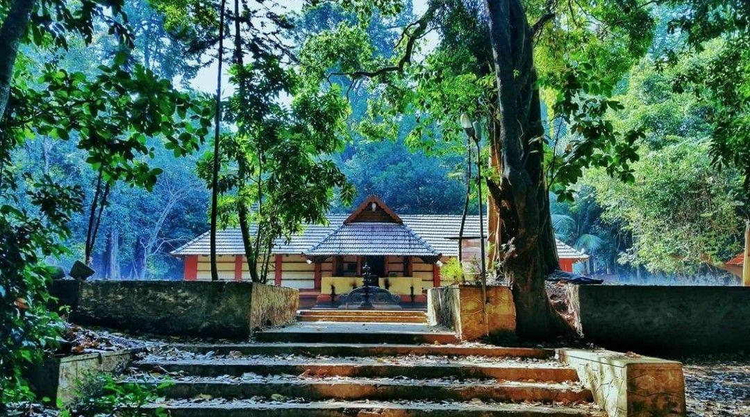 Kerala Iringole Kavu Bhagavathi Temple God S Own Country Small Garden Landscape Garden Landscaping Landscaping Trees