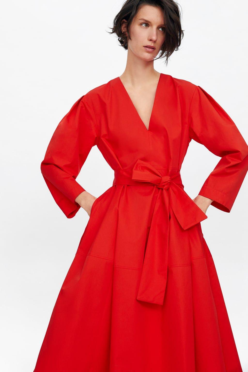 e9a9dae18f Belted poplin dress   oh, to dress in 2019   Dresses, Poplin dress ...