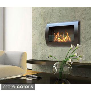 Upton Home Wesley Indoor/ Outdoor Portable Fireplace - Overstock ...