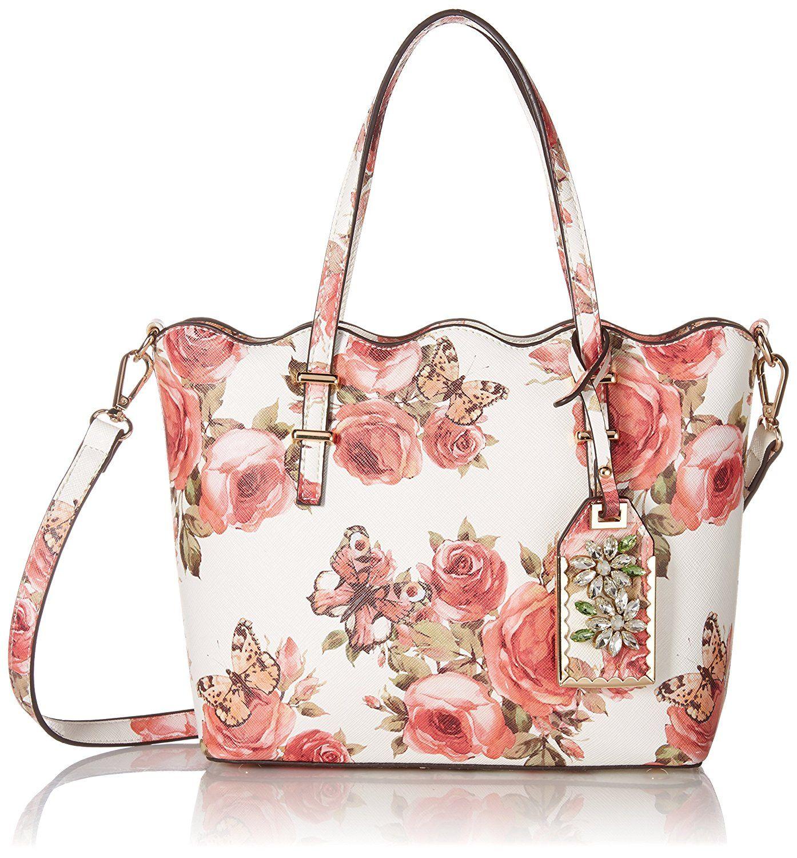 Aldo Aubigny, Rose Print  Handbag   Bags and shoes   Pinterest ... 982673cbde