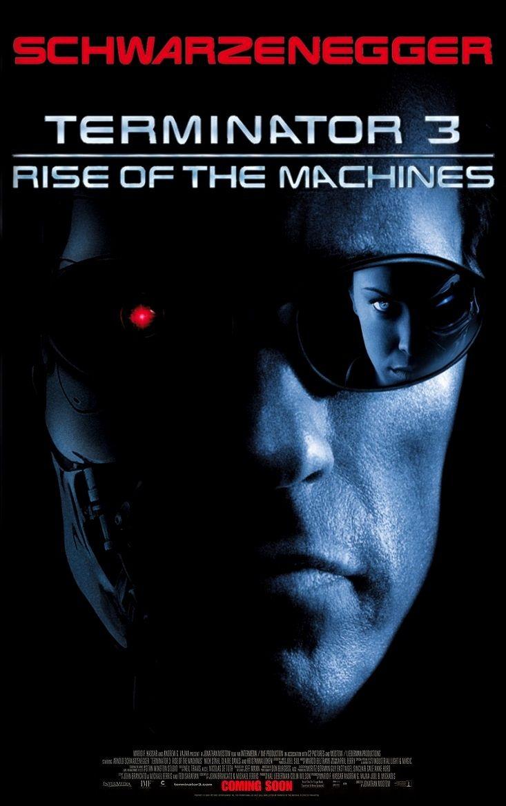 Terminator 3 Rise Of The Machines O Exterminador Do Futuro 3