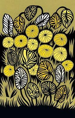 'Yellow Jungle' print by artist & designer Petra Börner. via the designer's site