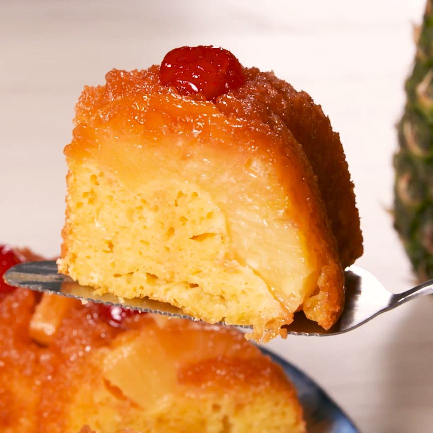Pineapple Upside Down Bundt Cake Is The Next Best
