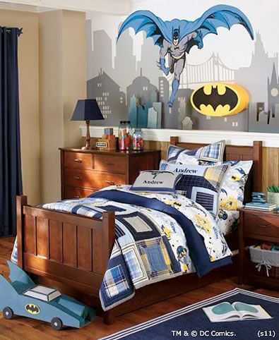 yep the kid has no chooice....this is going to be his room someday ...