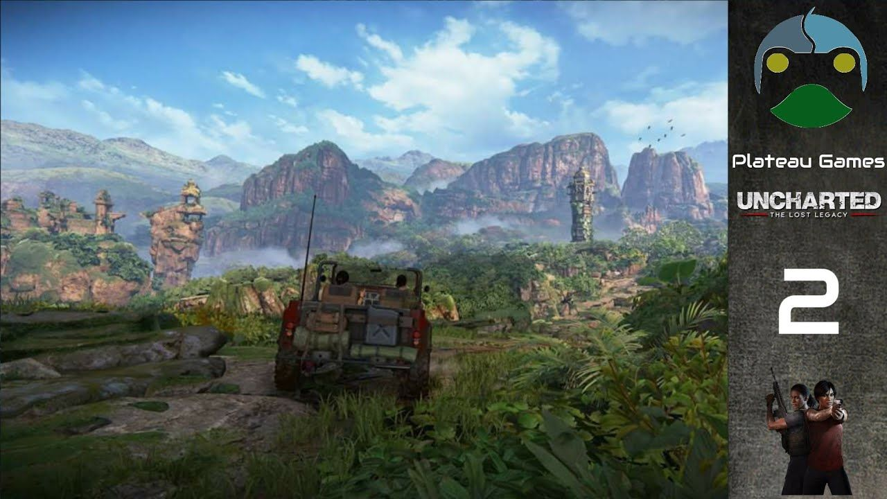 Uncharted The Lost Legacy 2 غاتس الغربية Uncharted Legacy Natural Landmarks
