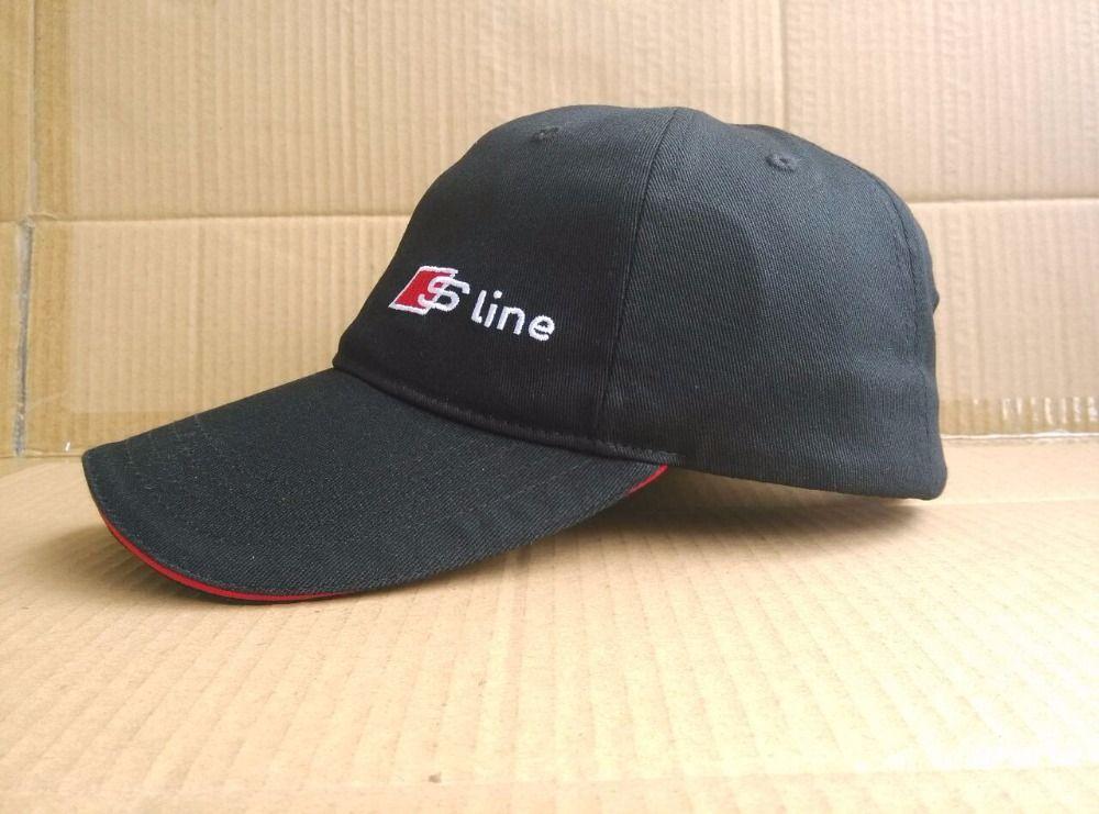 Audi S line Sport Baseball Cap Adjustable Casual Fashionable Snapback Racing Hat