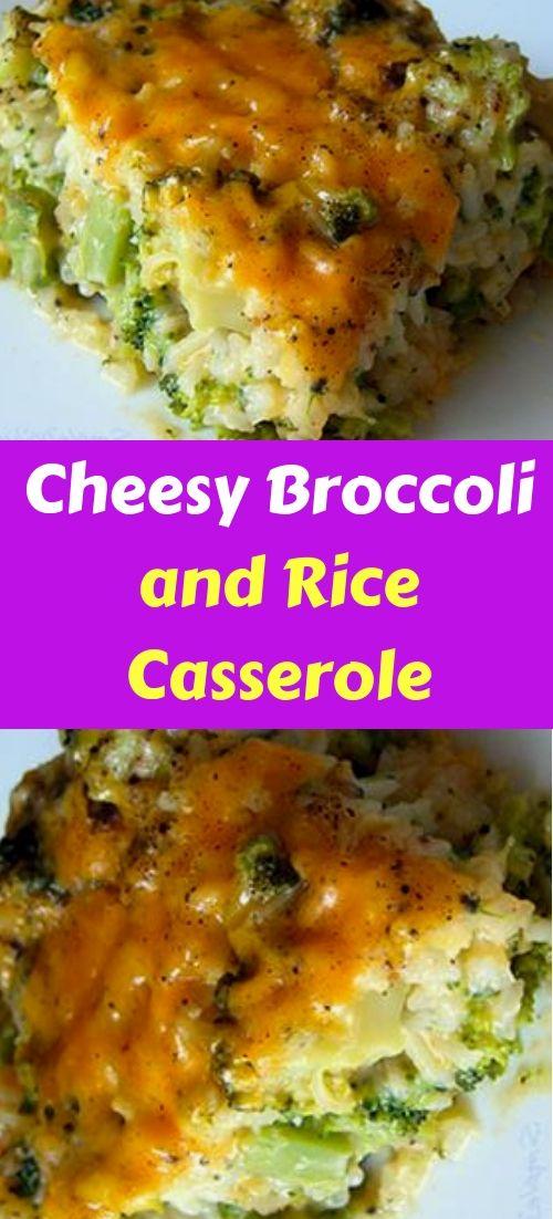 Cheesy Broccoli And Rice Casserole Recipe Chicken Broccoli -6185