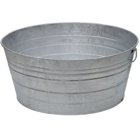 tub item soundlab large lid club with metal bucket buckets for drinks fin like tin galvanized this
