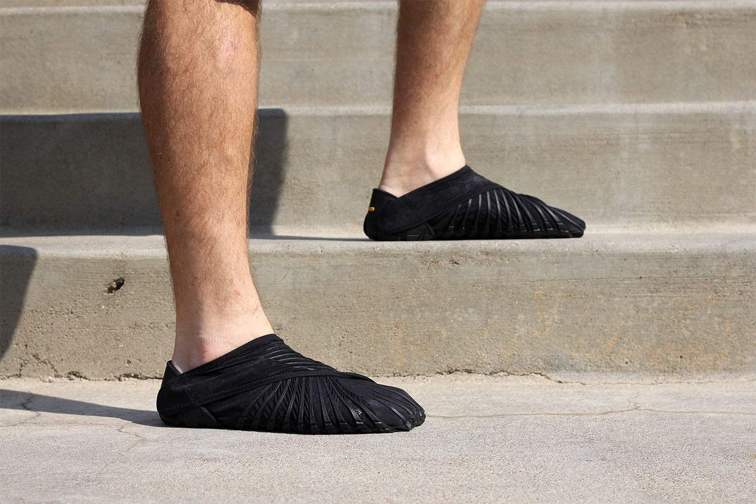 The Vibram Furoshiki shoes are advertised as outsoles that wrap around your  foot. d275c73fc