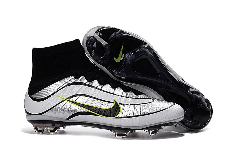 best loved 77fa6 cdc43 Nike Mercurial Superfly IV FG Heritage iD Silver White Black