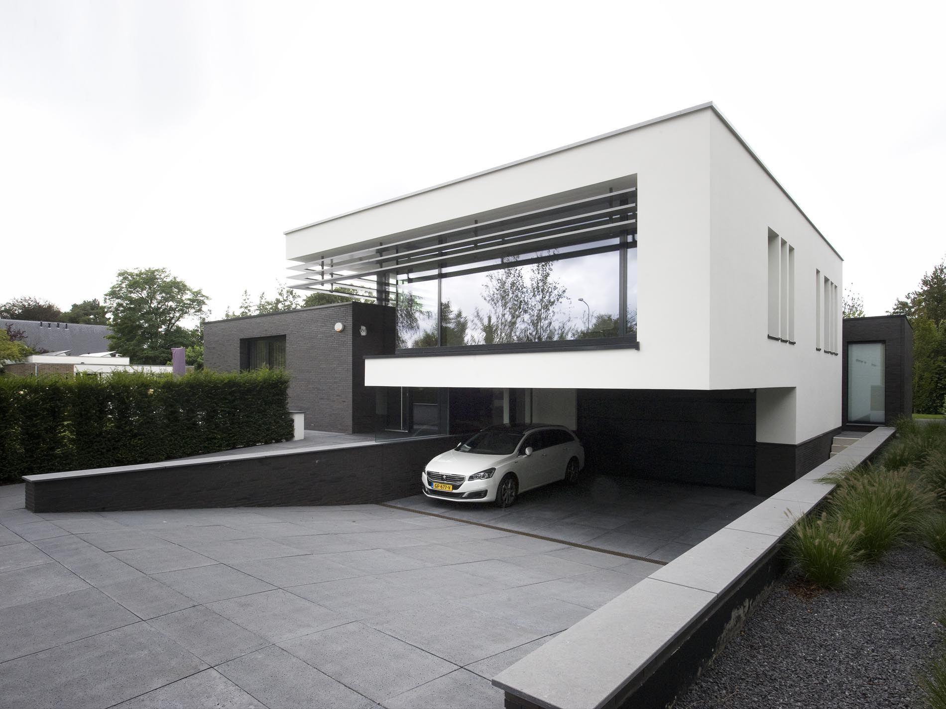 maas architecten woonhuis heemskerk modern house pinterest moderne h user. Black Bedroom Furniture Sets. Home Design Ideas