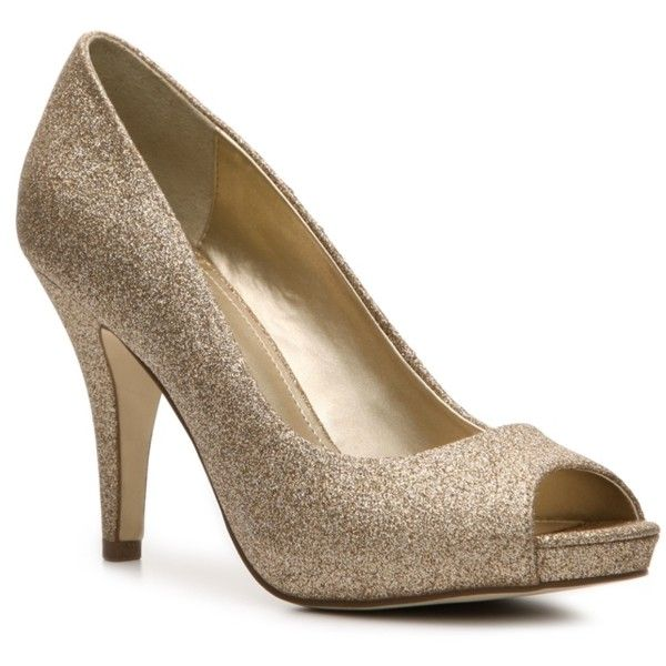 Bridal Shoes Dsw: Muted Glitter Heel. Not Crazy Shiny. Dress Up Jeans Or