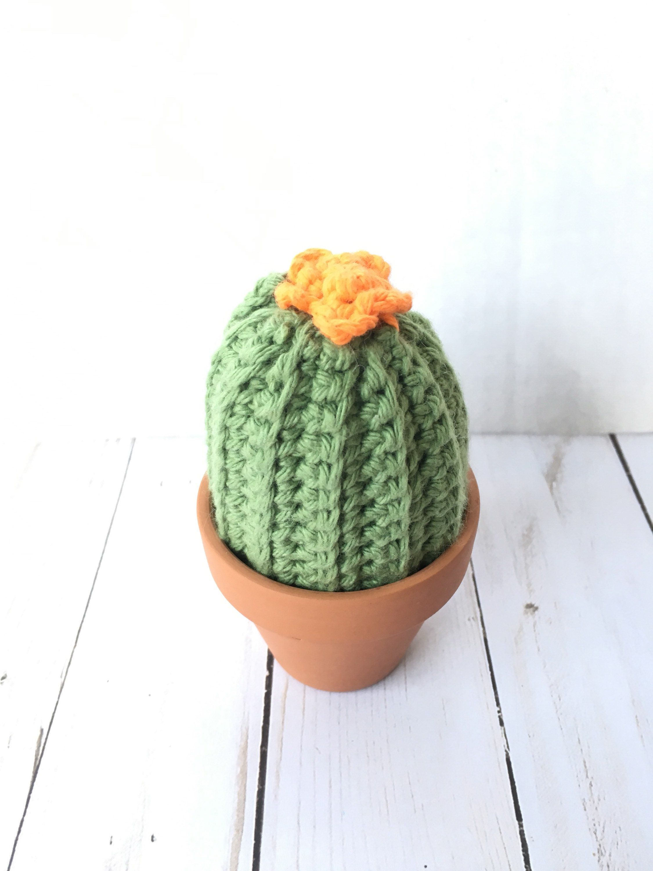 Crochet Cactus Pincushion - Free Crochet Pattern | Crochet cactus ... | 3000x2250