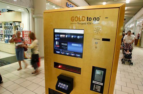 Pure Gold Vending Machine