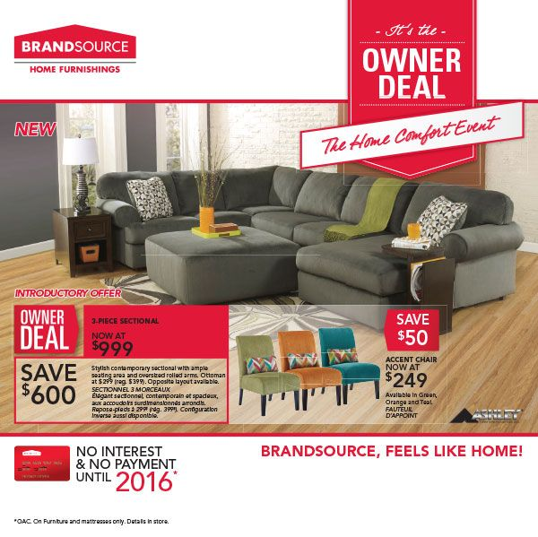 Brandsource Canada Furniture Promo Home Furnishing Stores Furniture