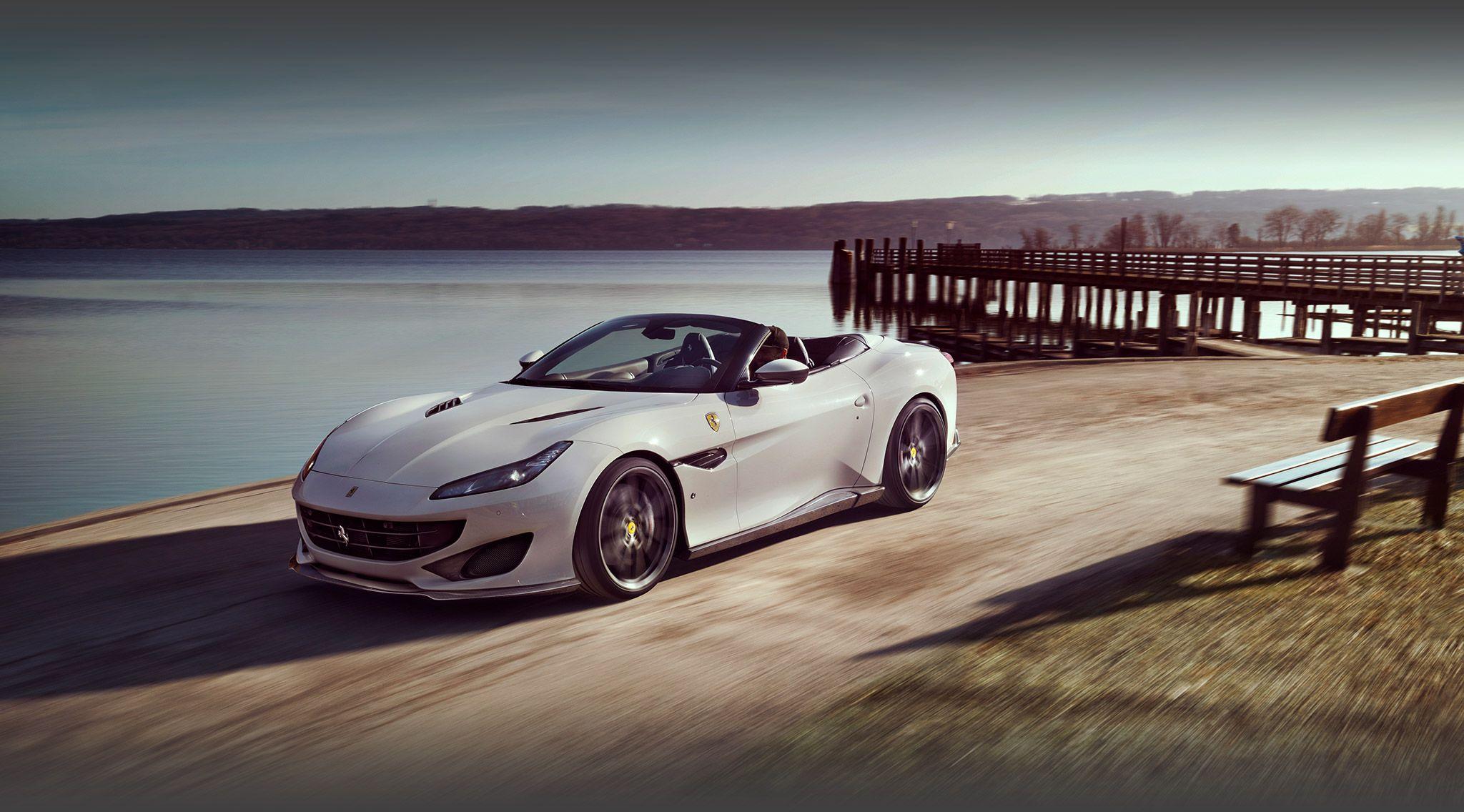 Ferrari Portofino Yellow Com Imagens Carros Auto