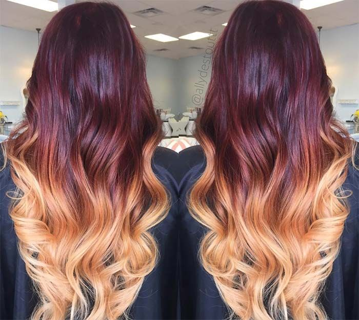 Dark Hair Colors Deep Mahogany Hair Colors Hair Pinterest