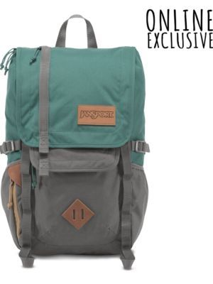 acafc13dd9bf The new JanSport Frosted Teal and Grey Hatchet Backpack from the Outside  Collection featuring laptop and tablet sleeves