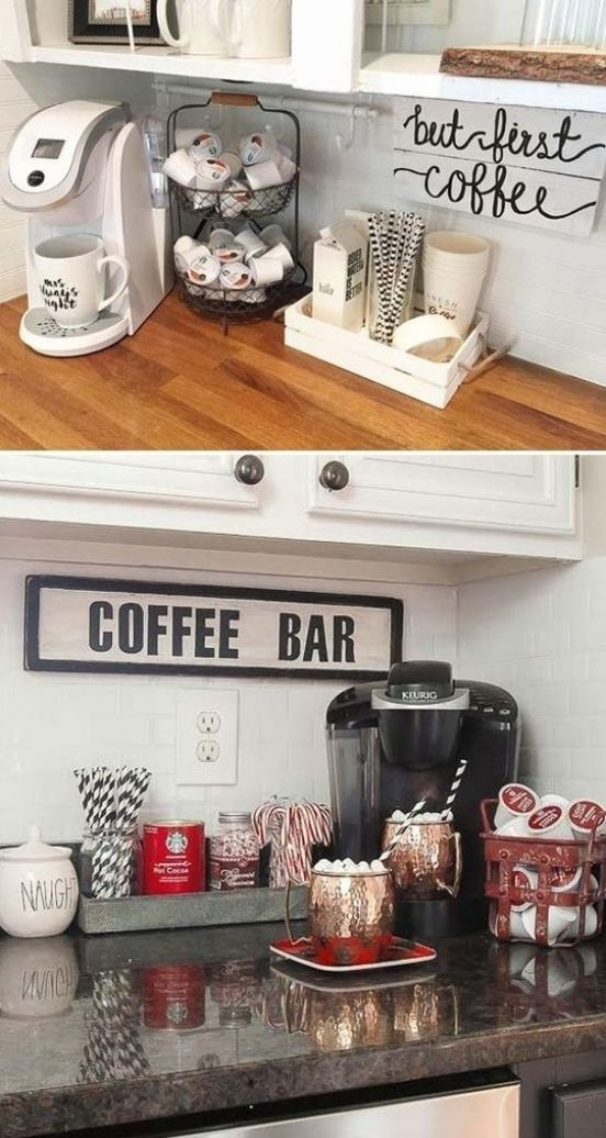 45+ Awesome Home Coffee Stations Ideas | momooze
