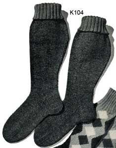 Men's Hunting Socks   No. K104   Free Knitting Patterns ...