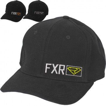 e392da8354d20 FXR Revo Mens Flexfit Guys Caps Snowmobile Curved Bill Hats
