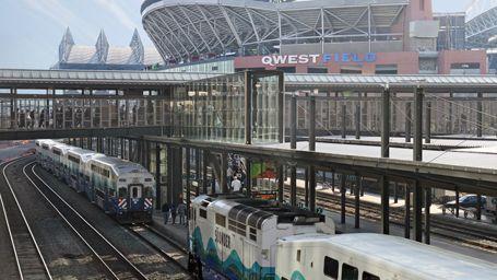 King Street Station Seattle Travel Light Rail Station Jackson St