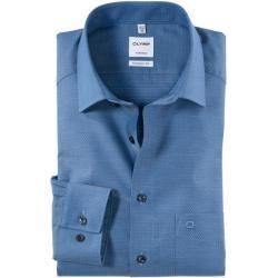 Photo of Olymp Tendenz shirt, modern fit, New Kent, Bleu, 41 Olymp