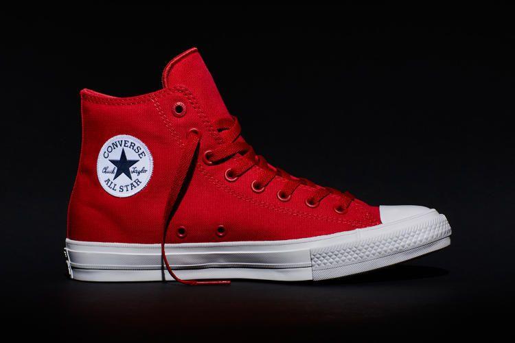 zapatillas converse rojas precio