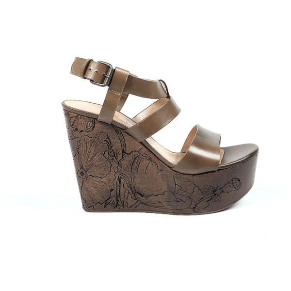 26c4da06c Casadei Ladies Sandals (391060301) (26 565 UAH) ❤ liked on Polyvore  featuring shoes, sandals, brown, brown shoes, brown high heel sandals, casadei  sandals, ...