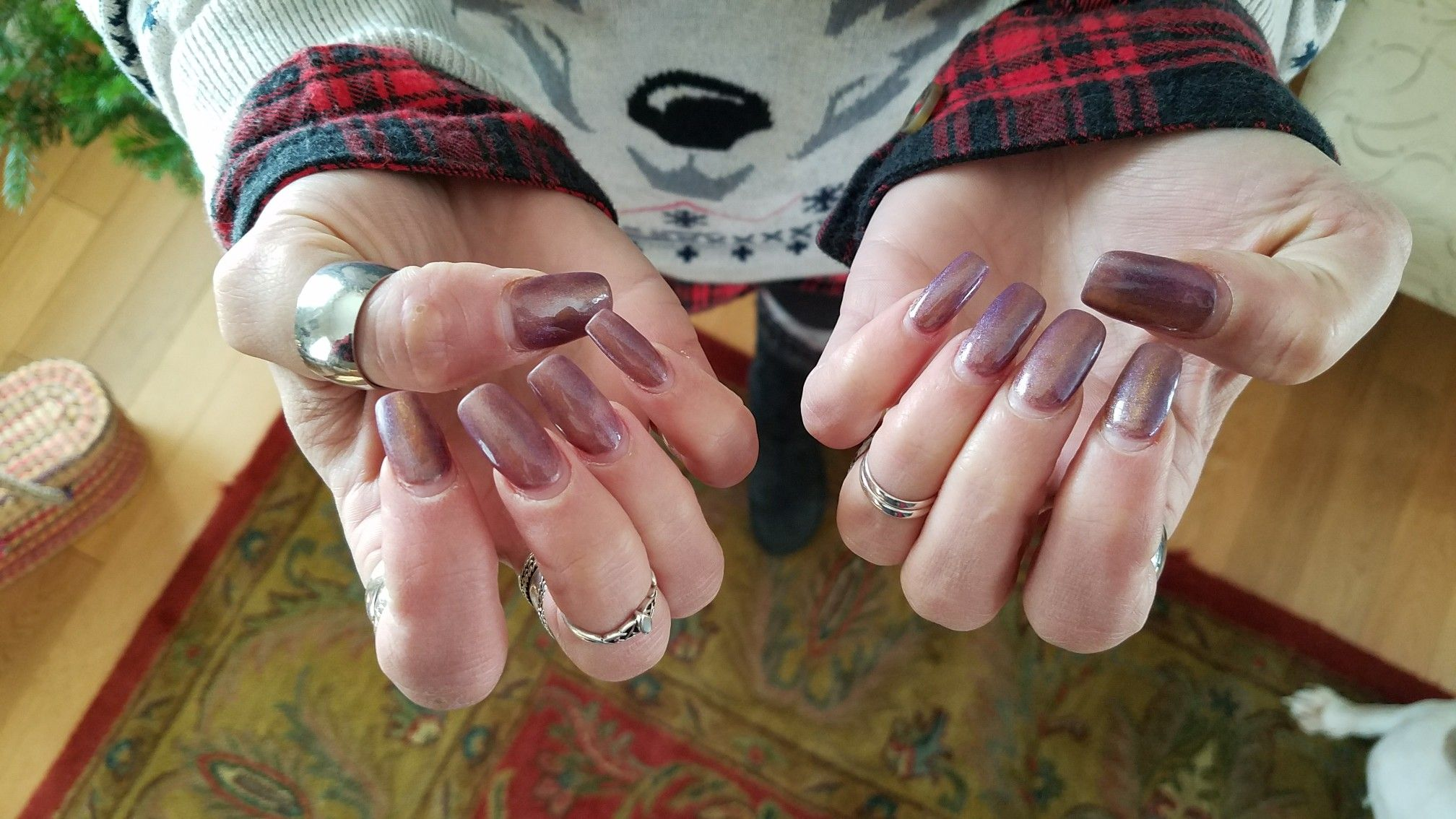 My nails and rings nails pinterest