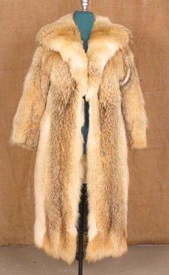 size L Nice Coyote Fur Women Coat [42]