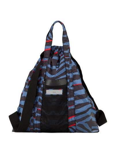 a94c1063ac Adidas By Stella Mccartney Nylon Striped Gym Bag