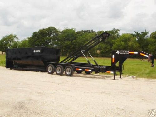 Page 49 02 7x16 21k Gooseneck Triple Axle Roll Off Dump Trailer Dump Trailers Trailer Monster Trucks