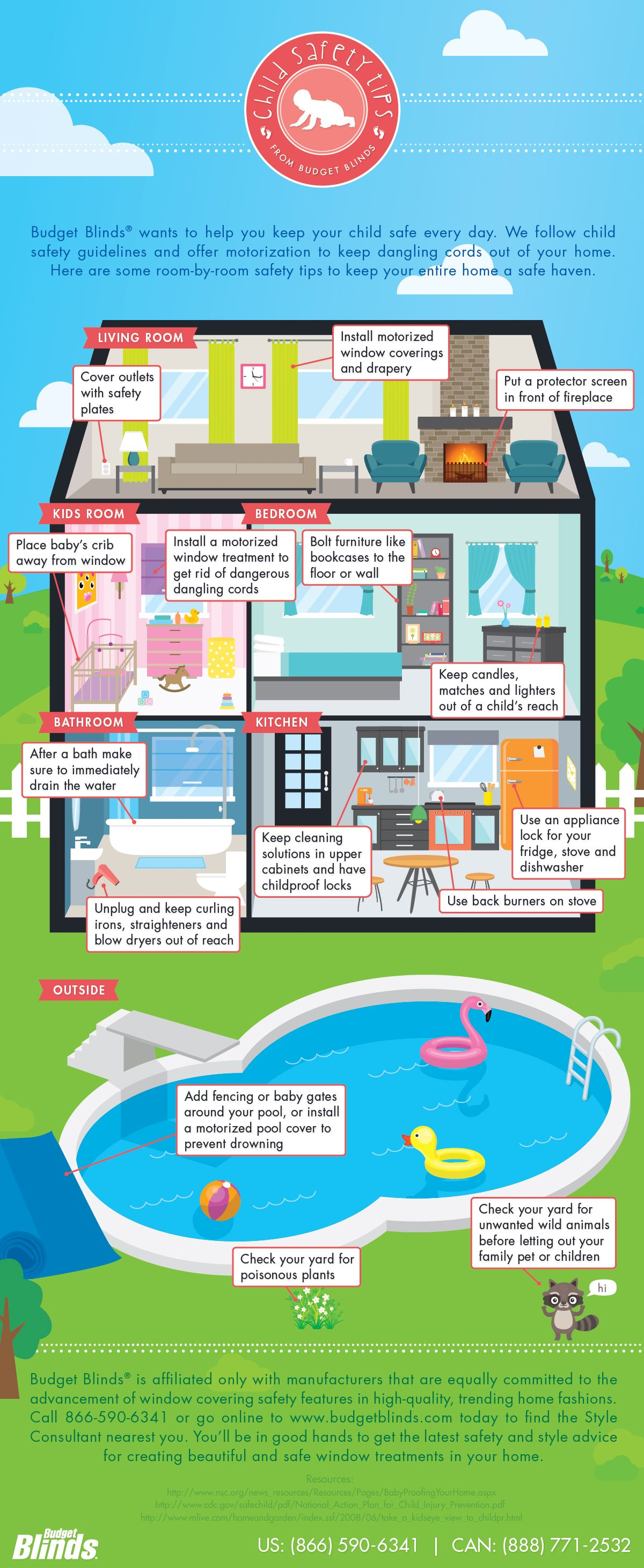 How to Child Proof Your Home in 2020 Kids window