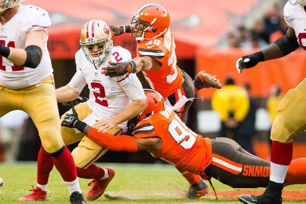 Blaine Gabbert Photos - San Francisco 49ers v Cleveland Browns - Zimbio