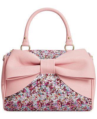 ffc7ce64d714 Betsey Johnson Macy's Exclusive Satchel - Handbags & Accessories - Macy's