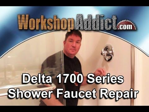 Repair A Leaking Delta 1700 Shower Faucet With Images Faucet