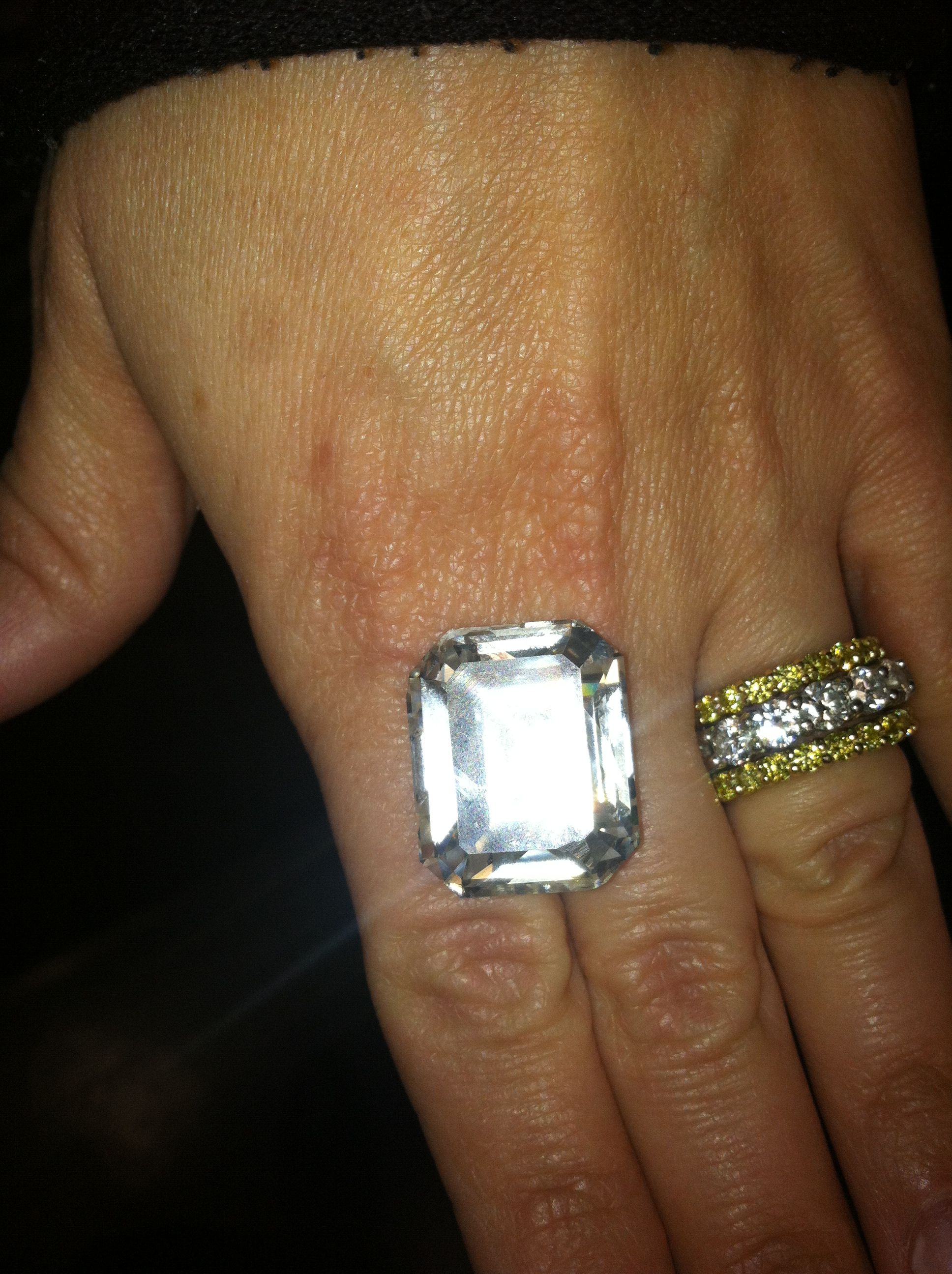 Now that is a big #diamond