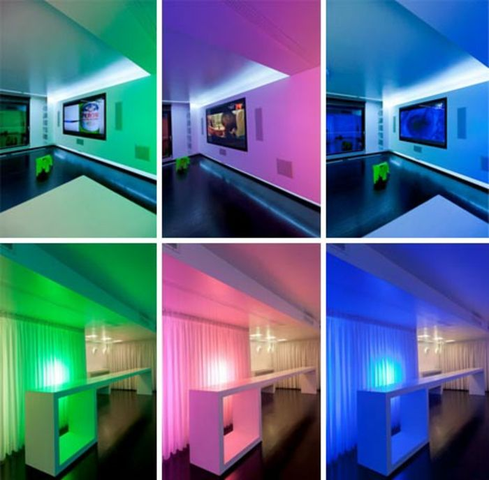 121 Raumkonzepte für indirektes Licht, die bei der Lichtplanung ...