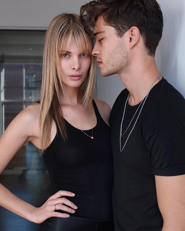 Look who stopped by the agency the beautiful Jesiann ... Francisco Lachowski And Jessiann Gravel Tumblr