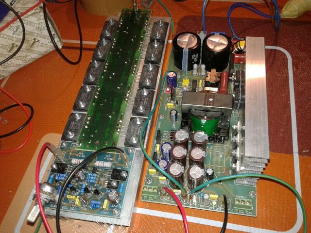 SMPS 1200 Watt for Power Amplifier | Power supply circuit and Circuits