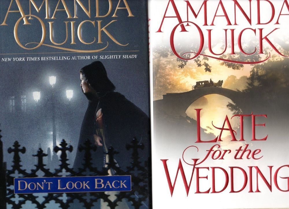 2 Amanda Quick Hc Dj Lot Don T Look Back Late For